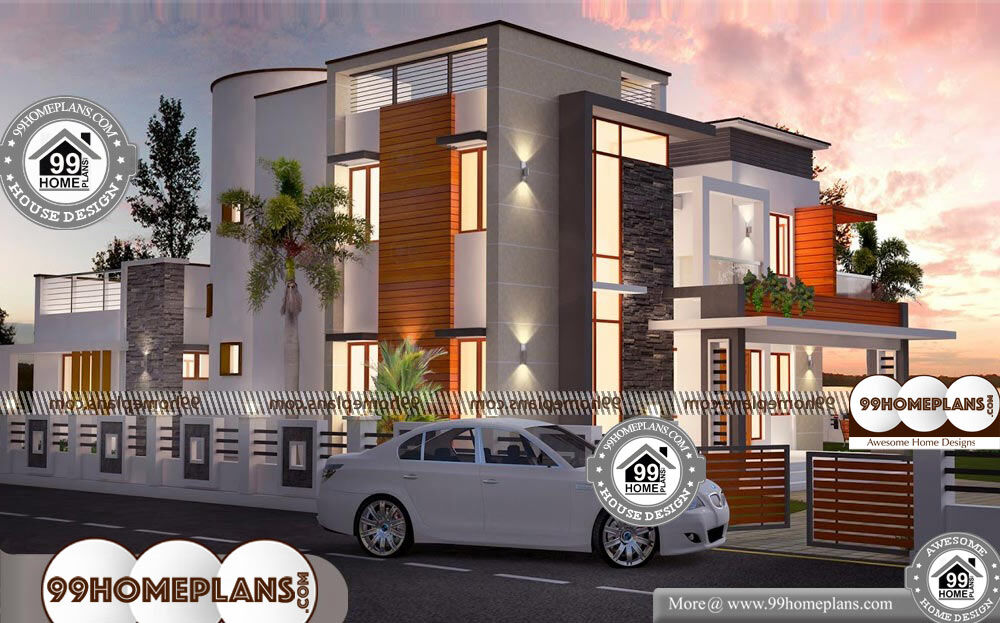 Economical 4 Bedroom House Plans - 2 Story 2920 sqft-Home