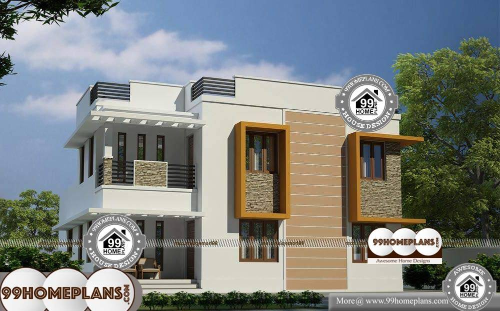 House Plans 35 Feet Wide - 2 Story 2060 sqft-Home
