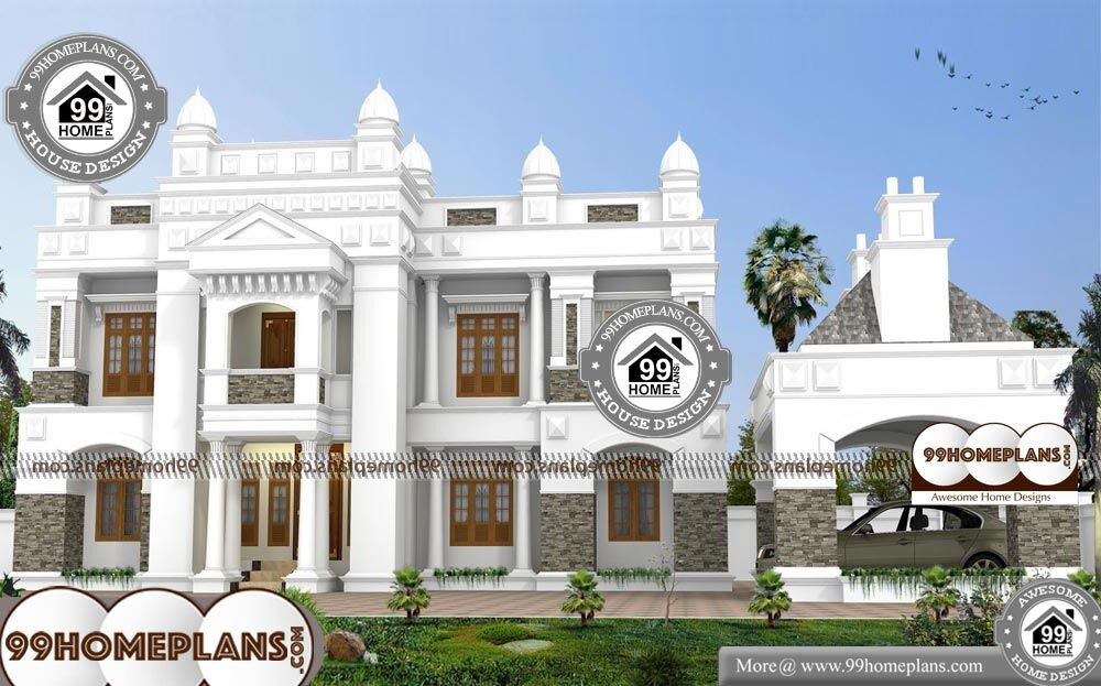 House Plans Bungalow With Garage - 2 Story 5350 sqft-Home