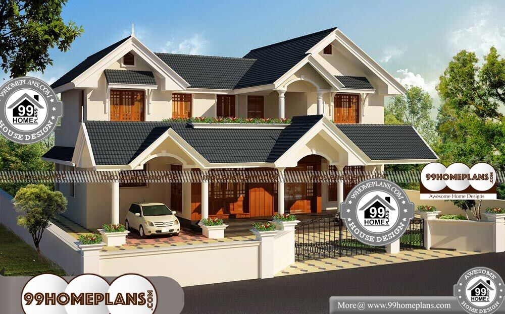 House Plans Double Story - 2 Story 2320 sqft-Home