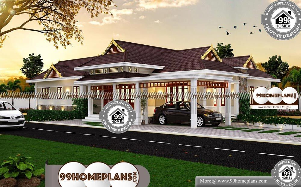 House Plans For Corner Lots - Single Story 2490 sqft-Home