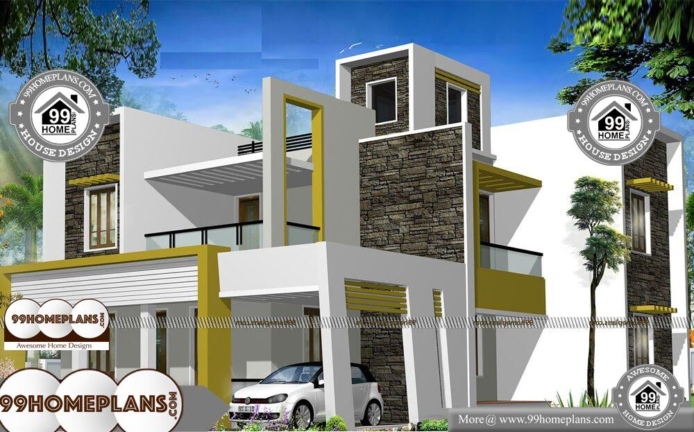 House Plans For Double Storey - 2 Story 2650 sqft-Home