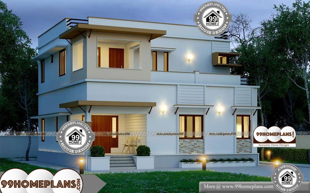 House Plans For Narrow Plots Uk - 2 Story 1990 sqft-Home