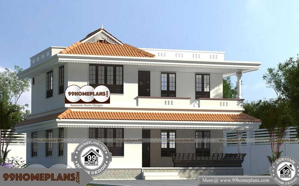 Kerala Home Design Blogspot - 2 Story 2024 sqft-Home