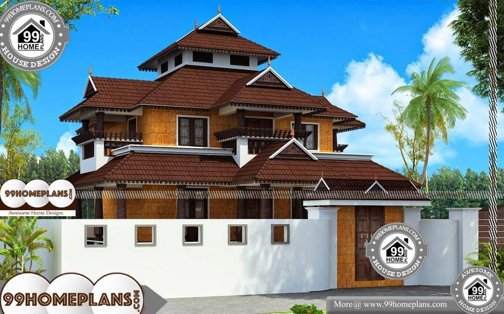 Kerala Old Houses Nalukettu Veedu - 2 Story 2900 sqft-Home