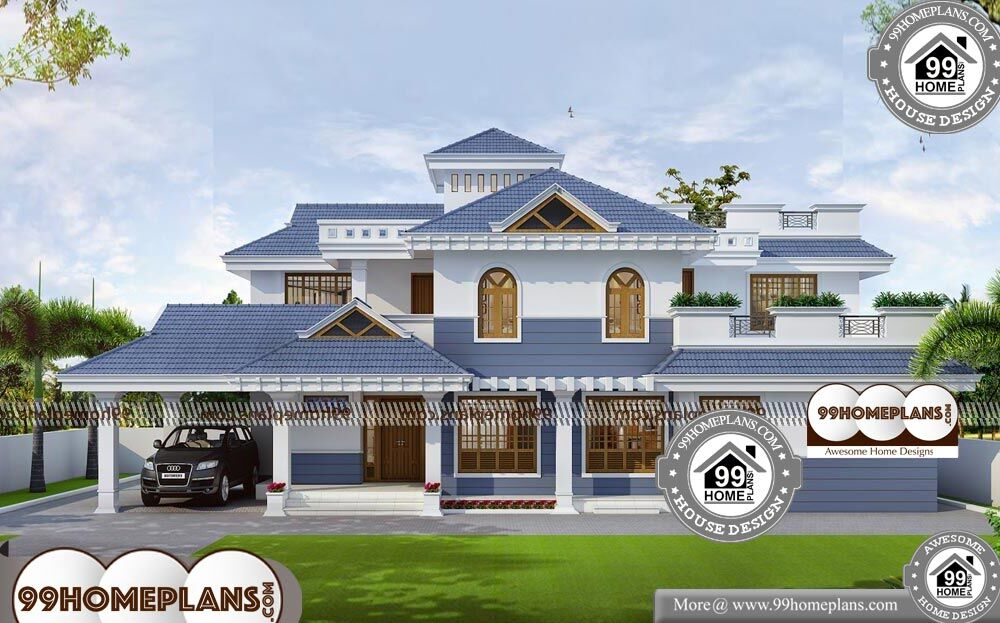 Low Cost Two Storey House Design: Low Cost Two Story House Design With Very Cute And Grand