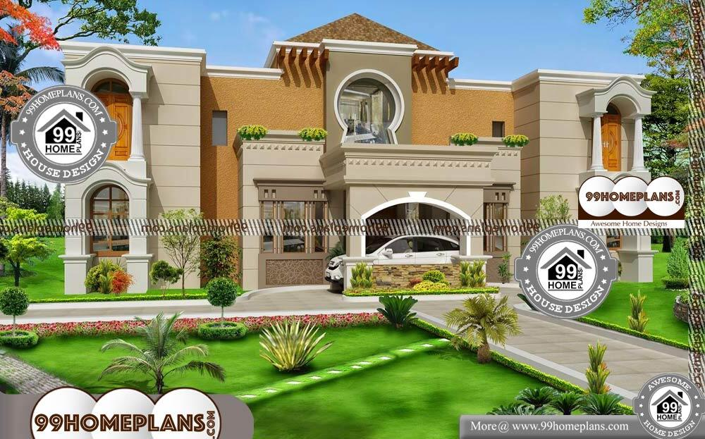 Luxury Bungalow House Plan - 2 Story 9000 sqft-Home