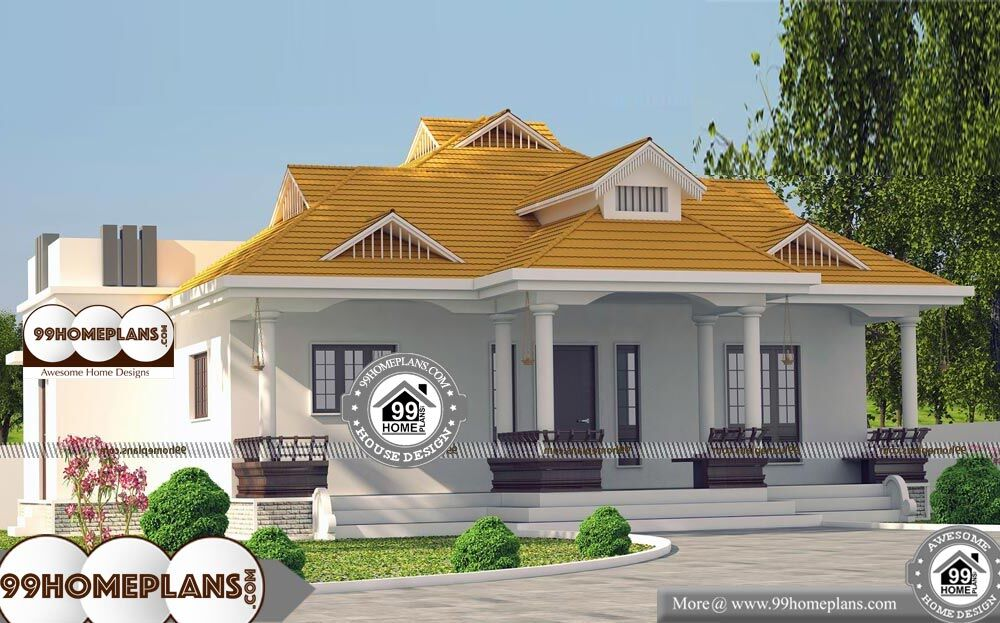 Modern 1 Story House Designs - Single Story 1950 sqft-Home