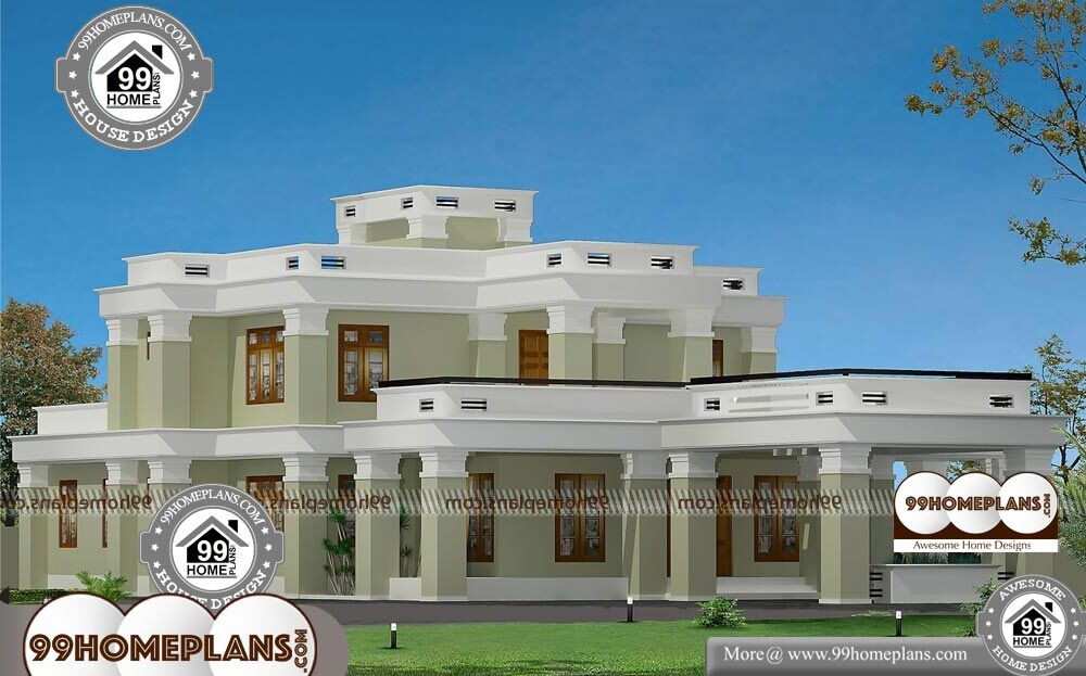 Modern Bungalow House - 2 Story 3050 sqft-Home