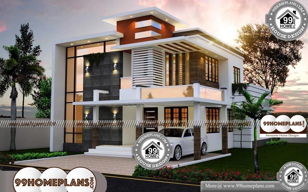 Modern Flat Roof House Designs Grand Amp Gorgeous Home