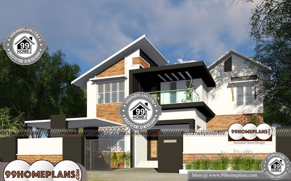Modern Luxury House Plans And Designs - 2 Story 2650 sqft-Home