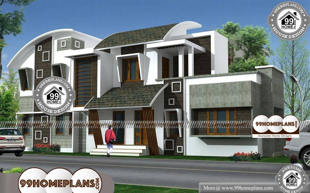 New Contemporary House Designs In Kerala - 2 Story 1466 sqft-Home