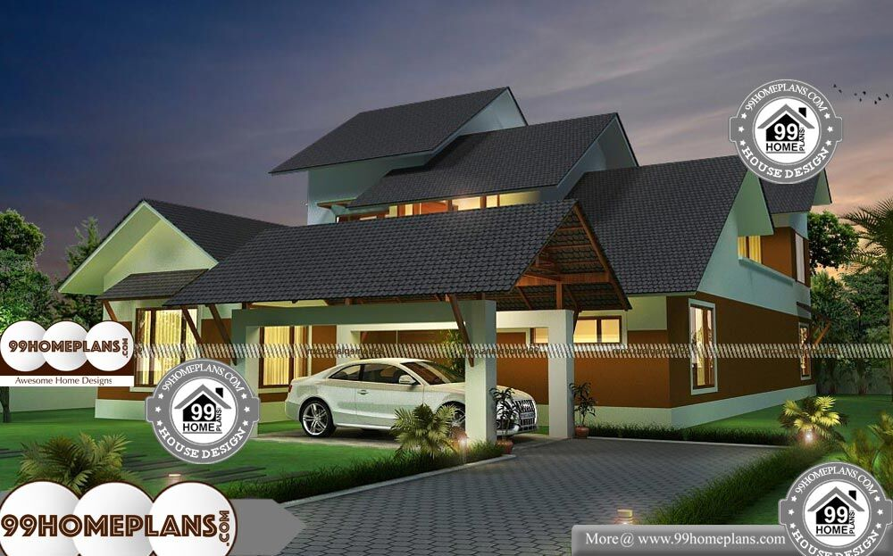 New Home Plans And Prices With Gabbled Roof Pattern