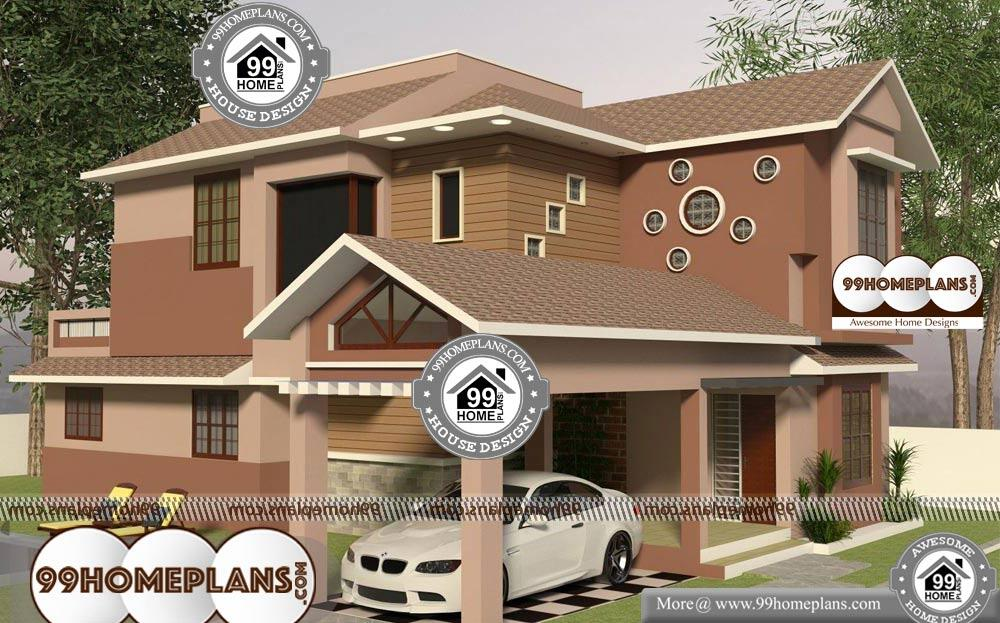 New Two Storey Homes Designs - 2 Story 1833 sqft-Home