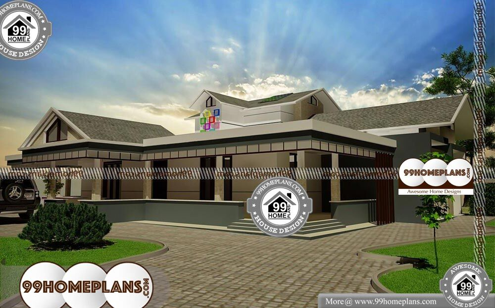 One Storey House Architectural Design - Single Story 2175 sqft-Home