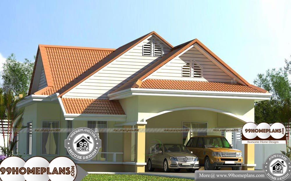 Single Story Modern House - Single Story 2067 sqft-Home