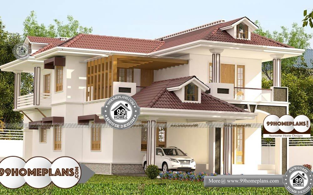 South Indian Style Home Design With Typical Decorative