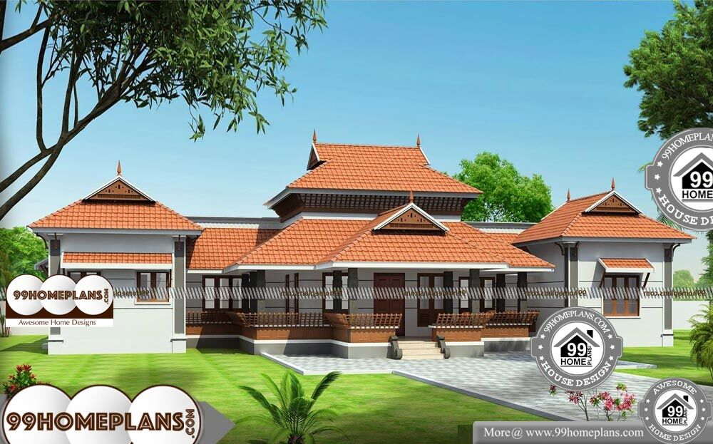 Traditional Bungalow Floor Plans - Single Story 3550 sqft-Home