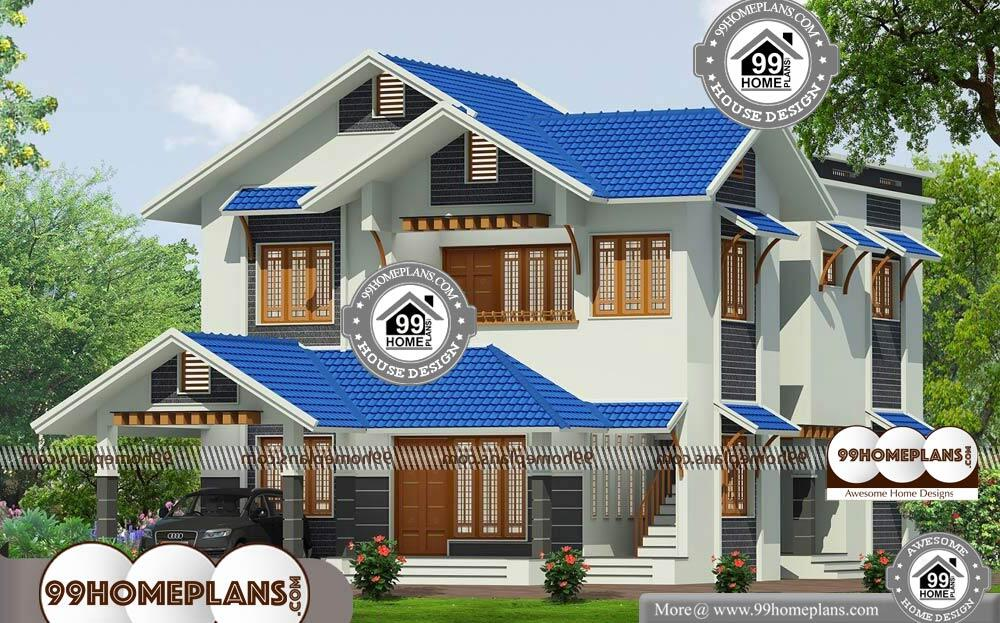 Traditional Craftsman House Plans - 2 Story 2345 sqft-Home