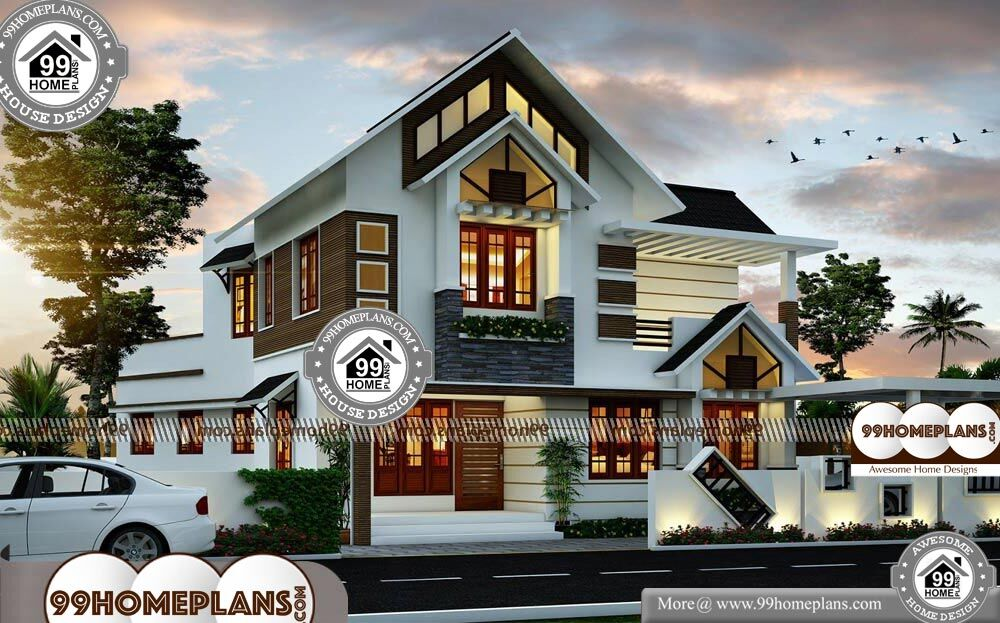 Traditional Home Architecture - 2 Story 2079 sqft-Home