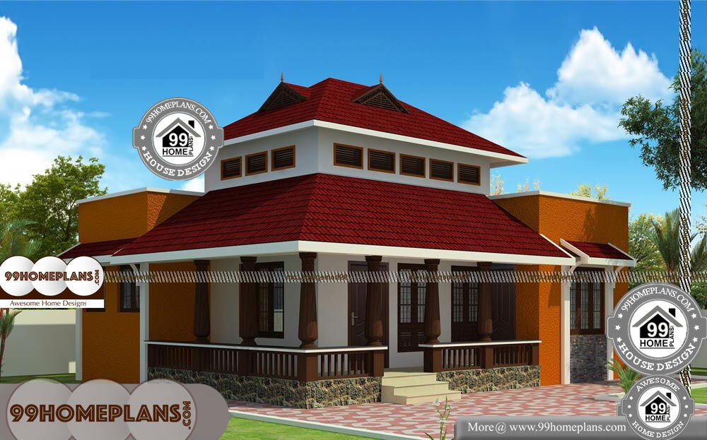 Traditional Home Designs Kerala - Single Story 900 sqft-Home
