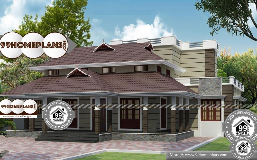Traditional Home Elevations - 2 Story 2730 sqft-Home