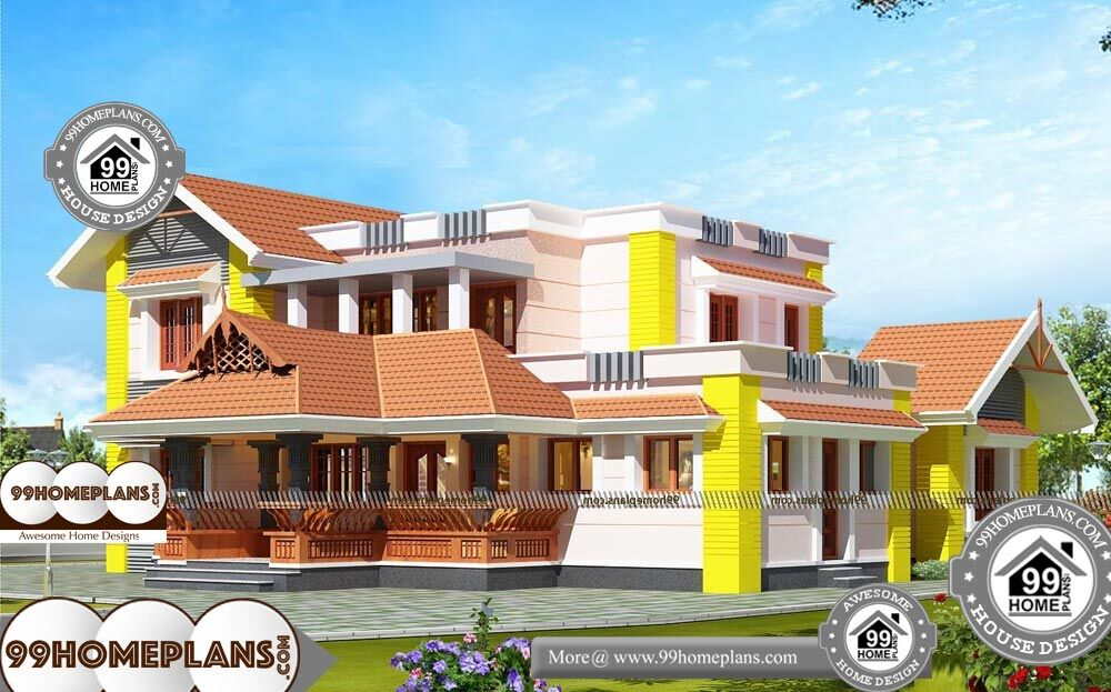 Traditional Mansion Floor Plans - 2 Story 2600 sqft-Home