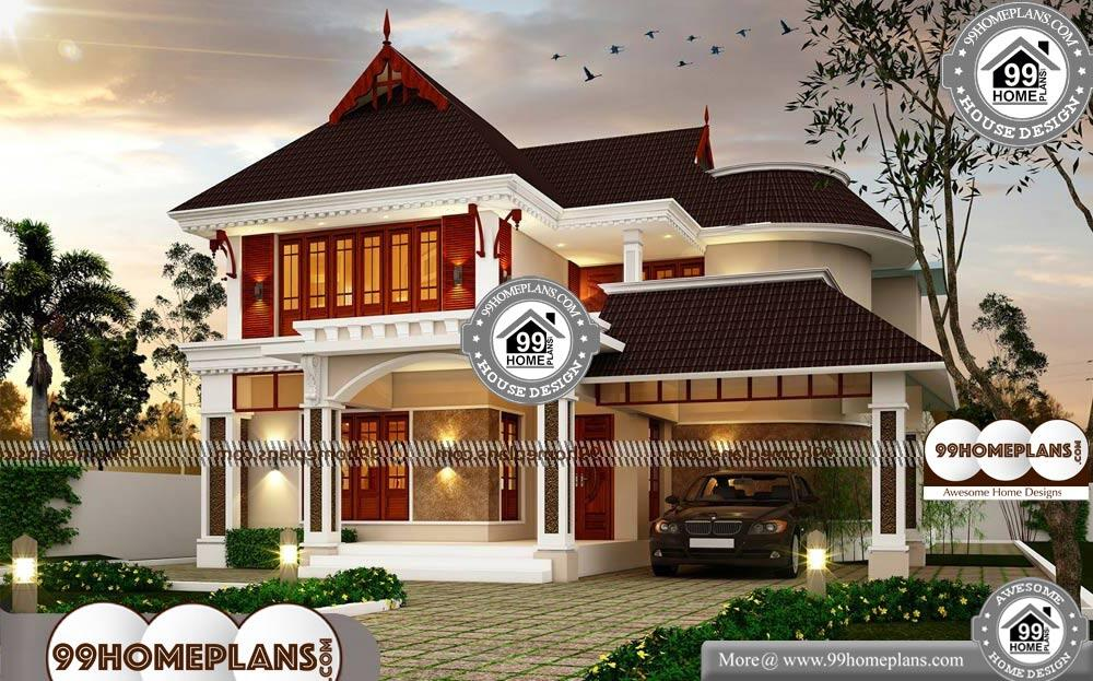Traditional Style Homes - 2 Story 2882 sqft-Home