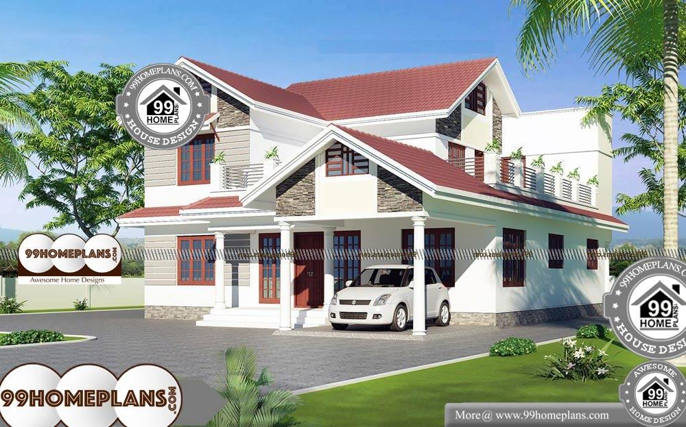 Two Storey Homes With Balcony with Ultimate Lifestyle of ...