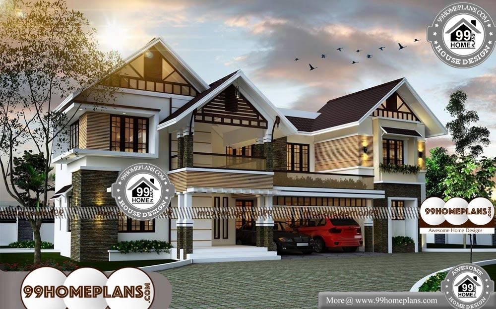 Two Story House Plans Indian Style - 2 Story 2979 sqft-Home