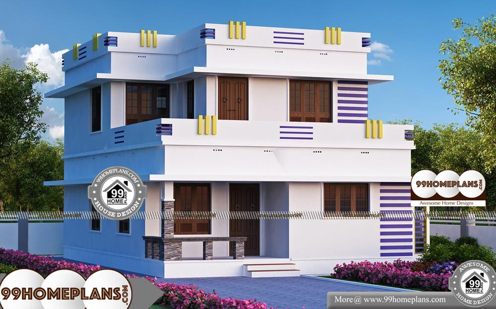 Vastu Plan For East Facing Duplex House With Elevation Of 2 Story Design