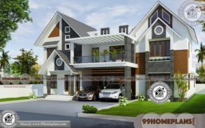Affordable 4 Bedroom House Plans & Traditional Large Home Collections