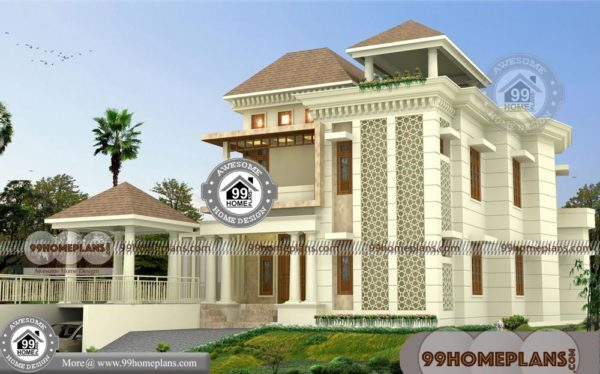 Affordable Bungalow House Plans with Double Story Latest Home Models