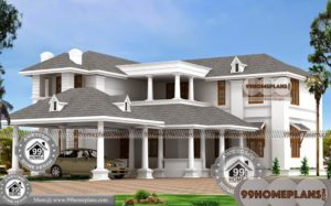 Architect Plans For Bungalows with Two Story 3000 sq ft Modern Designs