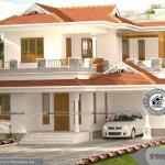 Architecture House Elevation Design with 2 Story Home Plan Collections