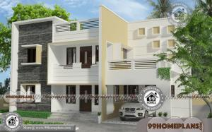 Beautiful Small Home Designs with Two Story Modern Style Simple House