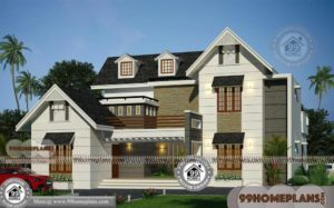 Best Elevation Designs For 2 Floors with Luxury Modern Villa Collections