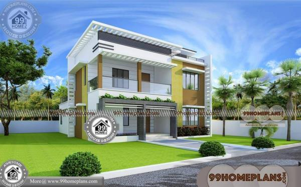 Box House Plans & Modern Simple Low Budget Architectural Design Ideas