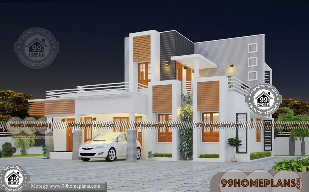 Box Style House Plans Double Story Ultra Modern Home Collections