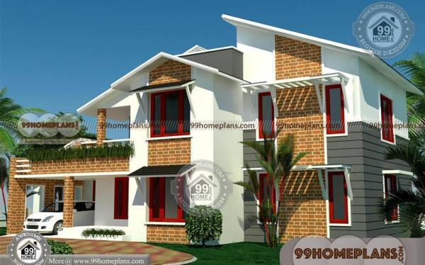 Brick Farmhouse Plans With Two Floor Modern Design Collections