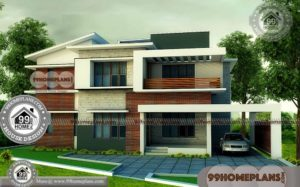 Brick House Plans With Photos with Double Floor Most Beautiful Designs