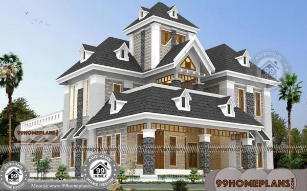 Bungalow House Designs And Floor Plans with 2 Story Contemporary Plan