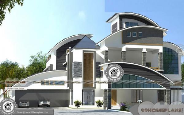 Bungalow House Plans Indian Style with Double Floor Home Collections