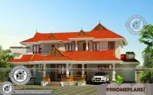 Cheap Double Story Homes with Old Style Kerala House Patterns Free