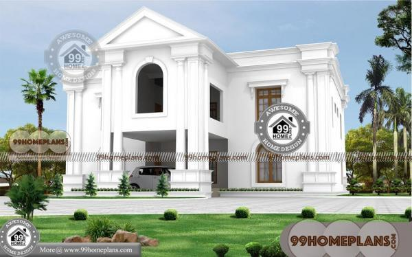 Contemporary Bungalow House Designs with 2 Floor Simple Classic Home