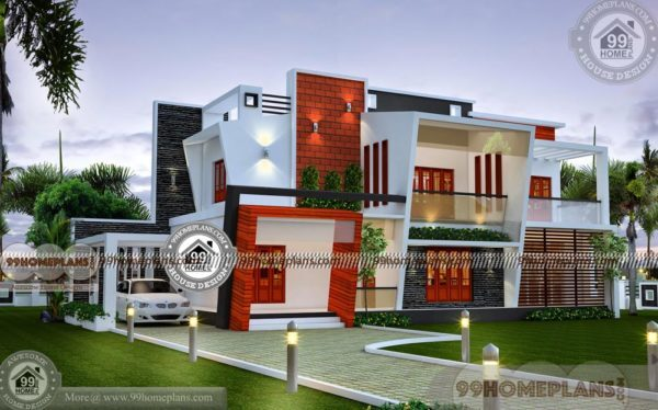 Contemporary Home Designs Kerala Style Modern Exterior Plan Collection Extraordinary Modern Exterior Home Plans
