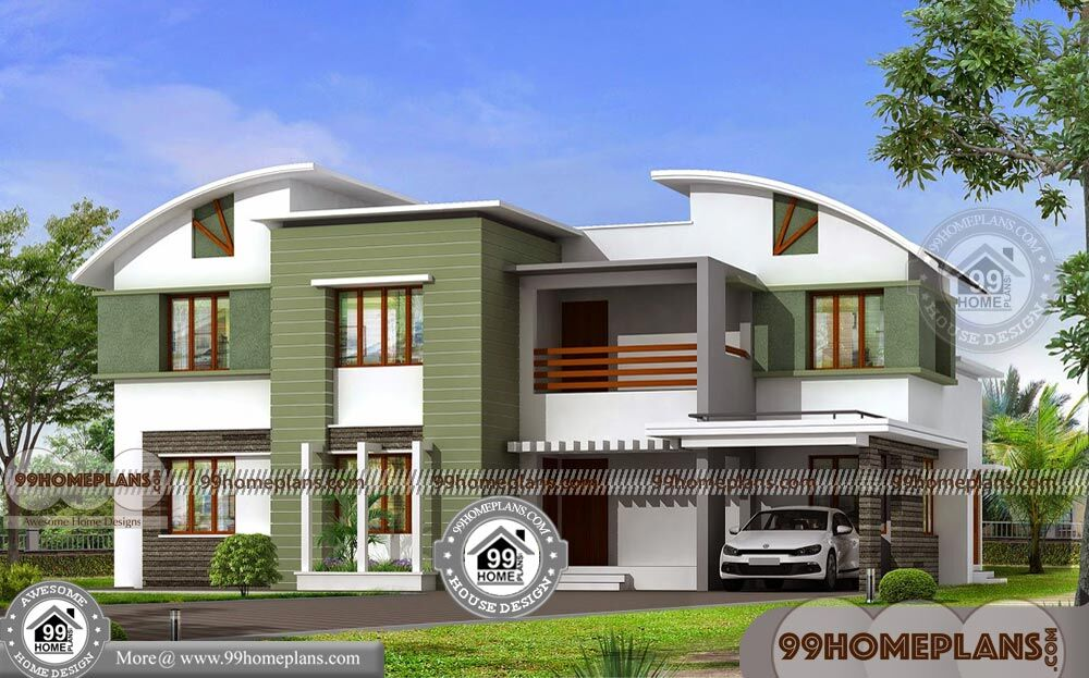 Contemporary Home Elevation Designs & Best Low Budget Modern Plans