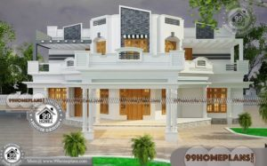 Contemporary Home with 2 Story Modular Structural Design Collections