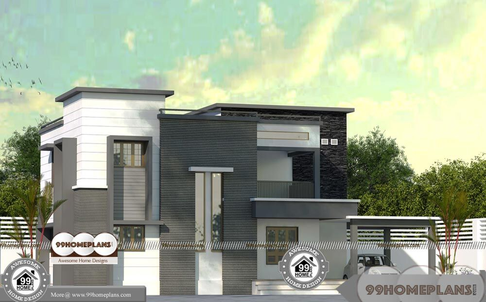 Contemporary house plans kerala and small modern plans for Plan collection modern house plans