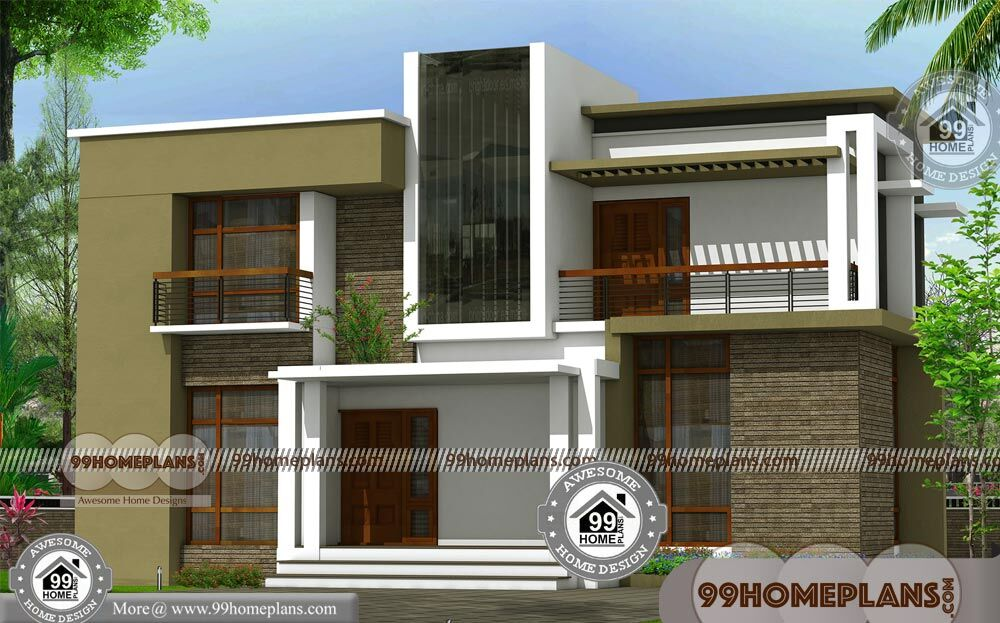 Budget of this house is 36 lakhs contemporary house plans